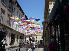 ombrelles à Arles
